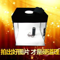 photo light box photo shoot box Photo Led Small Studio Set Simple Mini Camera Box Jewelry Micro Soft Light Box Equipment cd50