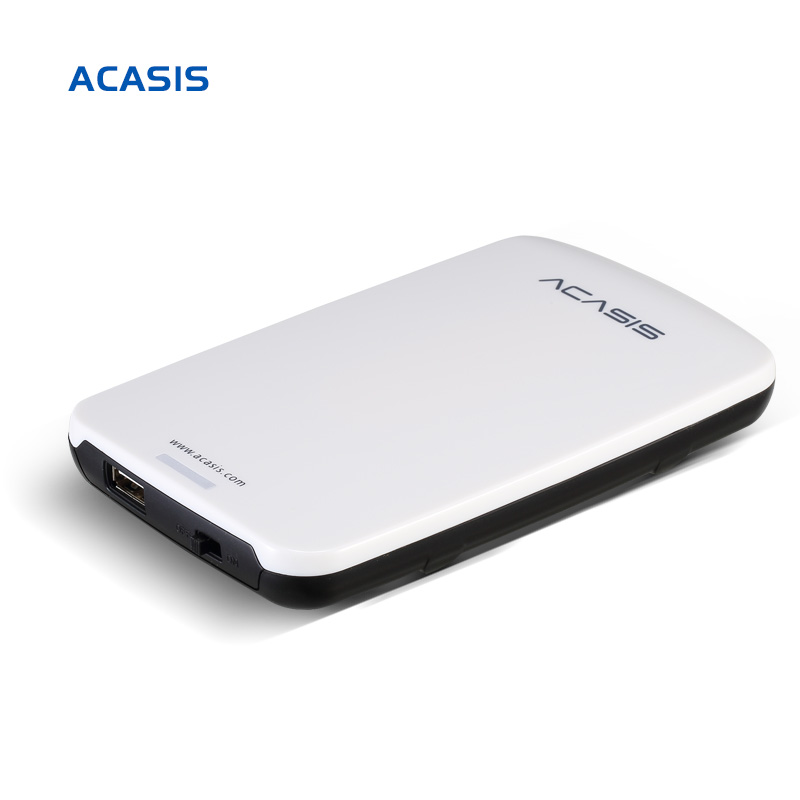 On Sale 2.5''  ACASIS Original 160GB 320GB 500GB Storage USB2.0 HDD Mobile Hard Disk External Hard Drive Have power switch free shipping hdd z5k320 250 hard disk drive kit 320gb use for scx 6545 6550 6345 775 6255 printer part