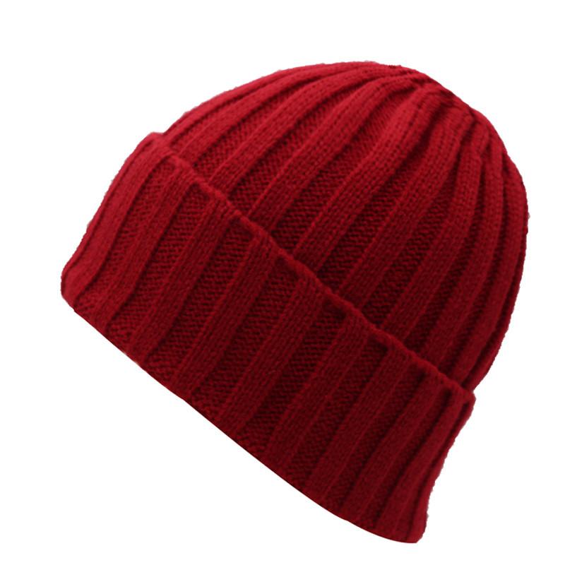 قبعة صوف رجالي دافئة 3