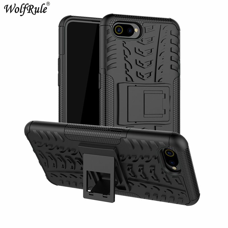 Phone Case Oppo A1K Case Dual Layer Armor Shell TPU+PC Shockproof Cover For Oppo A1K Cover Oppo A1K A1 K CPH1923C Funda Coque
