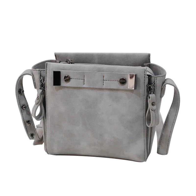 Simple Fashion New Korean Style Small font b Handbag b font Nubuck Leather Side Zippers Cheap