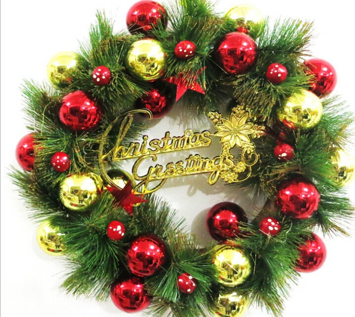 FREE SHIPPING Wholesale Christmas Garland 40cm Decoration