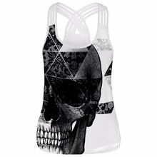 Cool Graphic Print Summer Beach Tank Top
