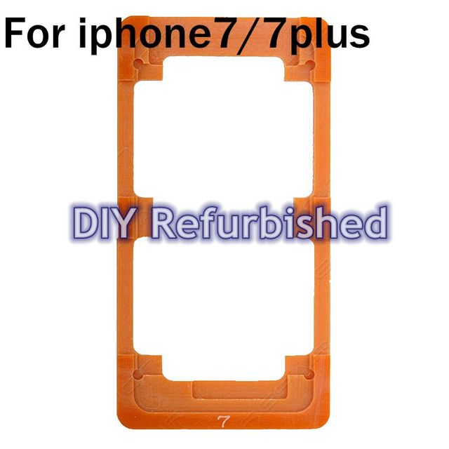 For iphone7/7 Plus LCD Outer Glass Lens Plastic Mould Mold For iPhone 7/7 Plus Rework Fixture Mould