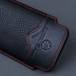 Image 4 - Pochette de conception originale pour Samsung Galaxy pli étui à la main de luxe en cuir de vache véritable sac de protection pour Samsung pli