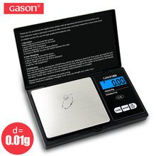 GASON Z2 200g/0.01g Jewelry Scale For Gold Weight Hight Precision Mini Pocket Electronic Digital Balance LCD Display Grams цены онлайн