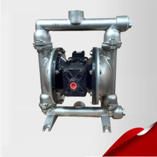 QBY-25P 316 Stainless Steel Marine Sanitation Diaphragm Pneumatic Pumps with F46 diaphragm