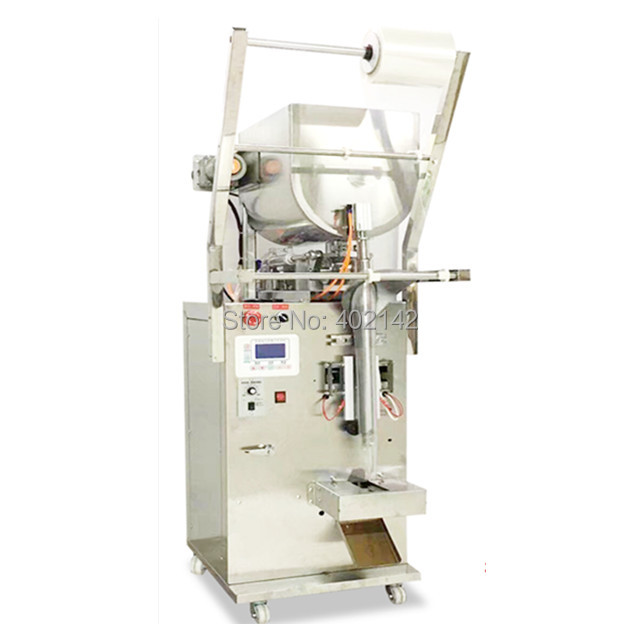Back side seal SMBJ-600HS cream packing machine with horizontal stirring for the cream, tomato with seeds