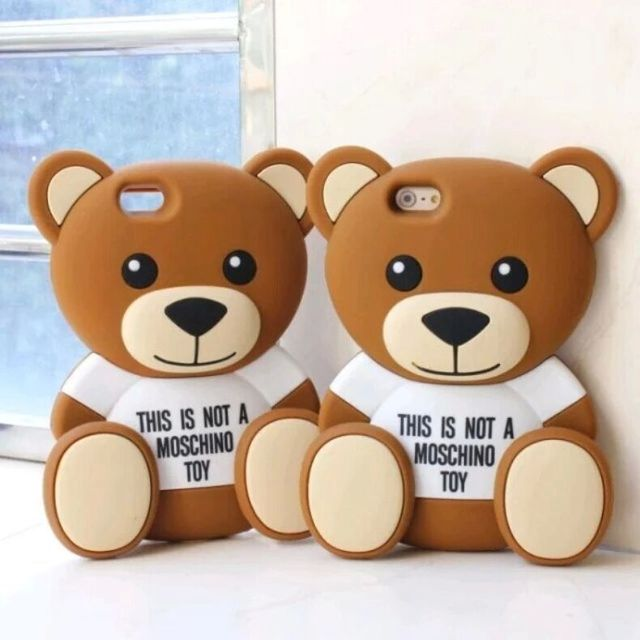 29930cd998d Funda for Iphone 5 5S 6 6plus carcasa para celular silicona coque Teddy  bear protective shell oso chocolate cartoon toy shell