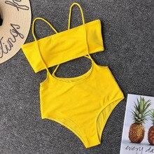 a9e2028b78 Buy 2019 Women s Bikini Set High Waisted Cross Suit and get free shipping on  AliExpress.com