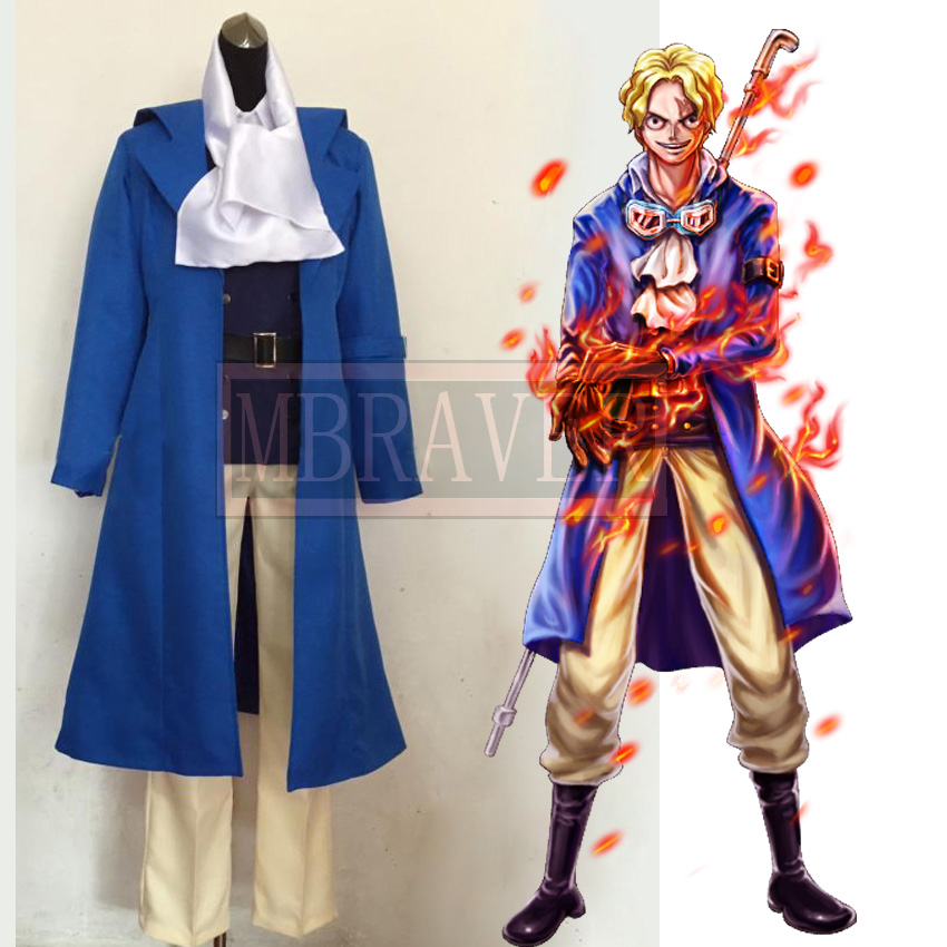 One Piece Sabo Anime Custom Made Uniform Cosplay Costume Tailor made Any Size