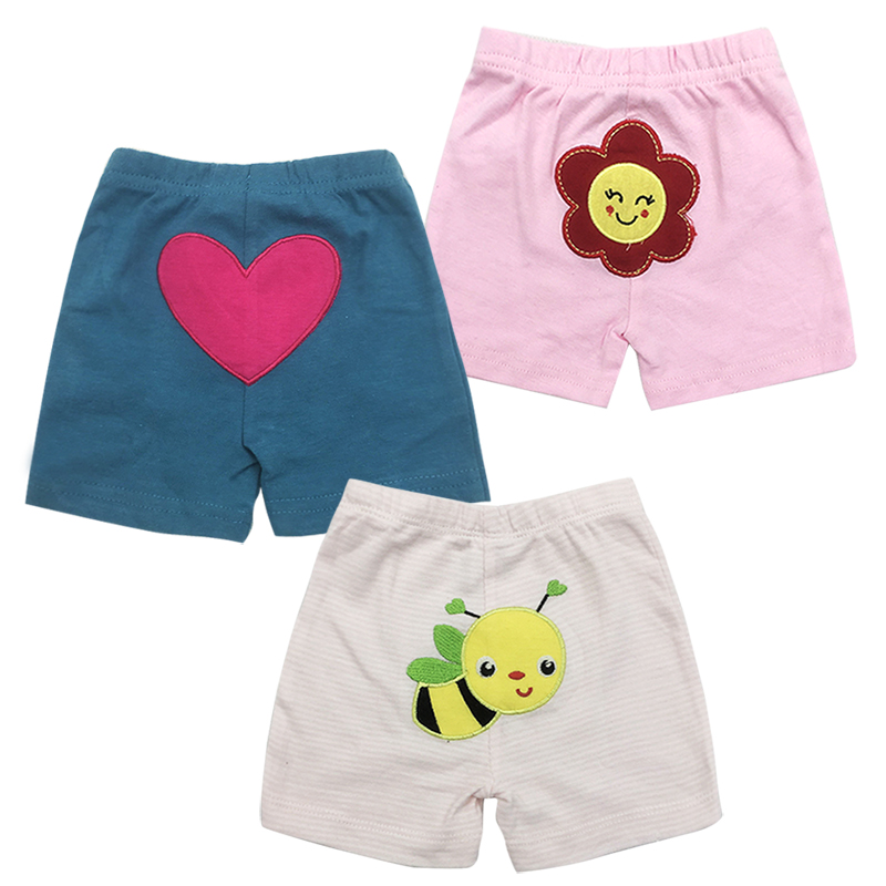 3 pcs/pack Baby Shorts pants Infant Summer trousers kids Boys Girl Clothes beach shorts Sport PP pant baby's Clothing