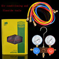 CH-6285 Household Refrigeration Air Conditioning Manifold Gauge Maintenence Tools  fluoride tool set  for R22