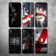 цена на Yinuoda Feyenoord Rotterdam FC Phone Case For Robin Van Perisie Shell Soft TPU Cover For iPhone X XR XS MAX 7 8 7plus 6 6S 5S 5