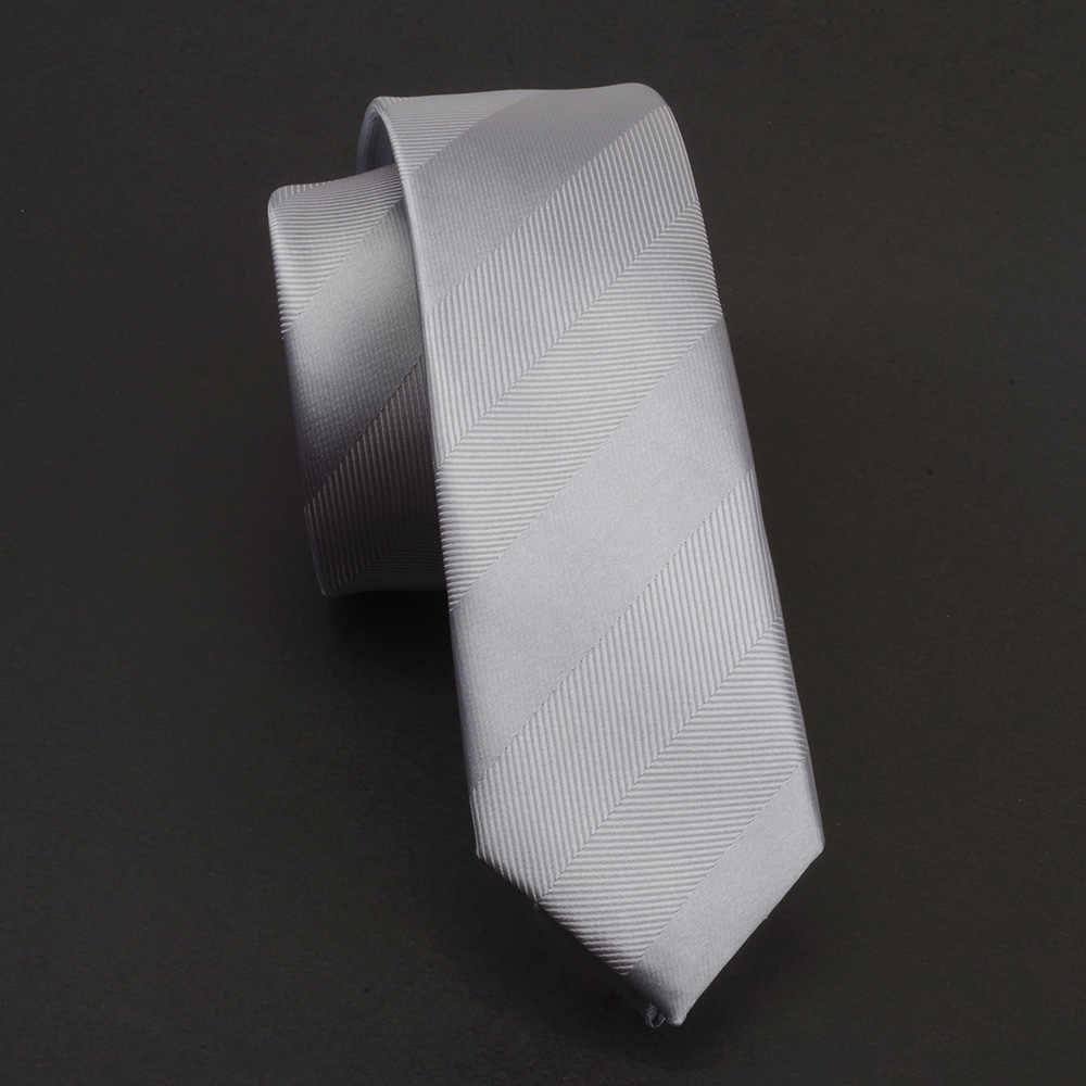 Gusleson мужской галстук 5 см обтягивающие Галстуки Роскошные водонепроницаемые полосатые клетчатые Галстуки Gravata жаккардовые мужские свадебные платья Тонкий Галстук