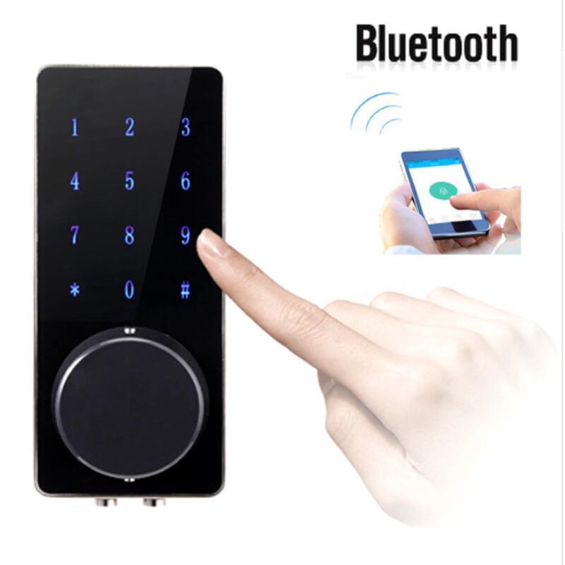 все цены на Electronic Bluetooth Smartcode Digital Door Lock Keyless Touch Password Deadbolt For Hotel and Apartment онлайн