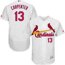 8fdbcff4d4c MLB Men s St. Louis Cardinals Matt Carpenter Baseball Home White Flex Base  Authentic Collection Player