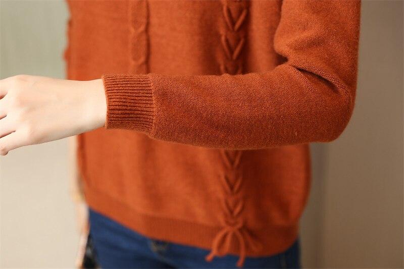 באיכות סתיו סוודרים נשים 4