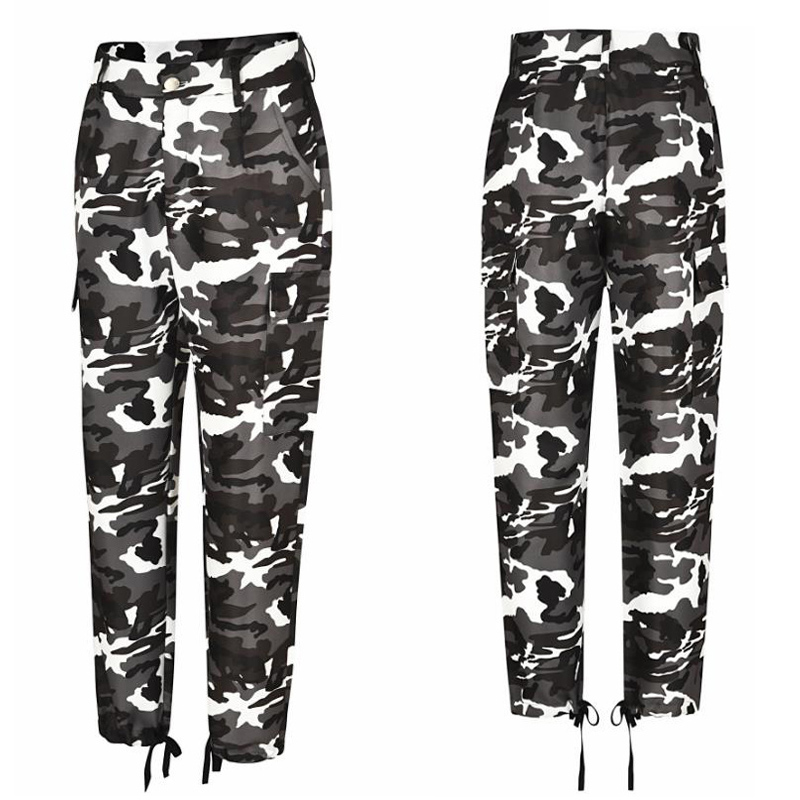 Women 39 s Cargo Pants Casual Girls Cotton Sexy Fitness Winter Tight Pants Autumn Camouflage Trousers Fashionable High Waist Camo in Pants amp Capris from Women 39 s Clothing