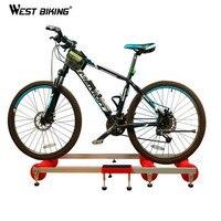 Запад biking противоскользящие обучение станции MTB дорожный велосипед упражнения Велосипедный Спорт S Фитнес станции велосипед Велоспорт Вел