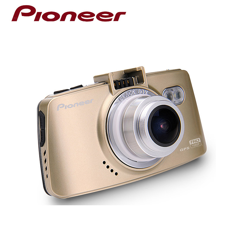 Pioneer DVR50  Car Dash Cam Full HD DVR Camera GPS WDR Video Recorder Automatic Recording Motion Detection