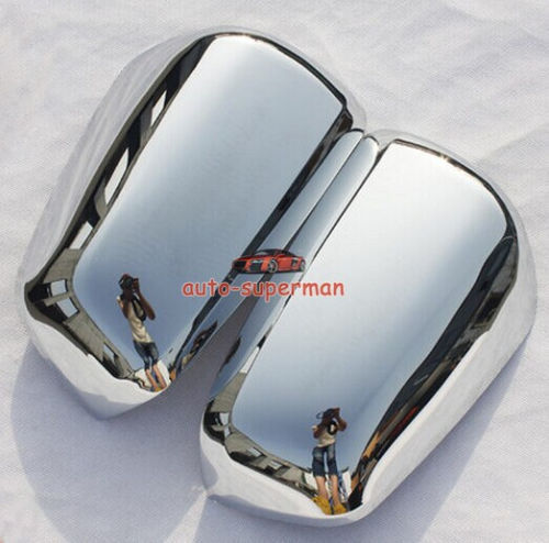 FOR 2010 2012 2013 2014 Mitsubishi Lancer SPORTBACK Side Chrome mirror cover