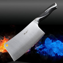 Top Steel Chop bone knife 5cr15mov tool Homework sharp cooking tools slicing /chef knife cleaver kitchen knives  free shipping