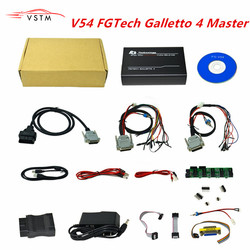 V54 FGTech  Galletto 4 Master BDM-Tricore-OBD Function FG Tech ECU Programmer with Multi-langauge Free Shipping