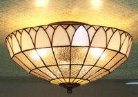 Современный потолочный светильник Tiffanylamp для кухни  спальни  художественного дизайна  модная лампа  китайский балкон