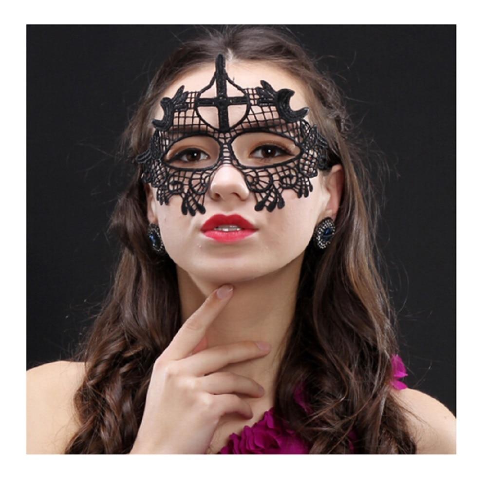 Unshaped Charm mask Lace seksikas silma mask Halloween jõulud - Pühad ja peod - Foto 3