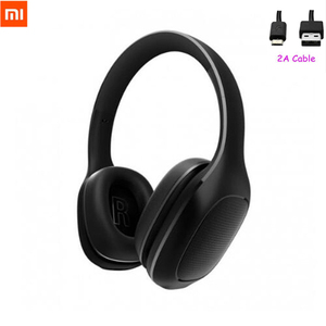 Image 2 - 2020 Xiaomi Mi Bluetooth Drahtlose Kopfhörer 4,1 Version Bluetooth Kopfhörer aptX 40mm Dynamische PU Headset Für Handy Spiele