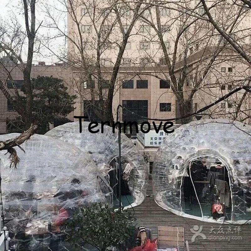шатор за кампирање на напухавање, догађање на свадбеној забави гумењак, врућа продаја надстрешница на надувавање (двослојни), изложбени простор