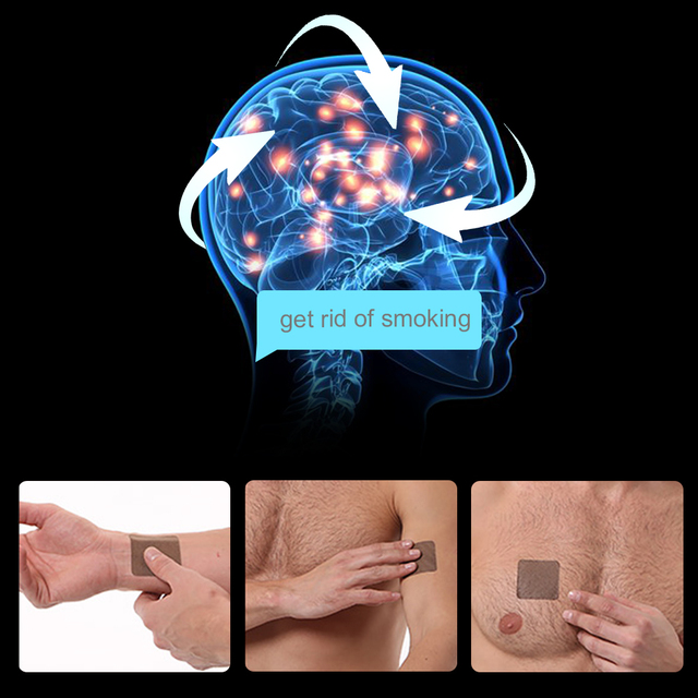 Sumifun 70Pcs Stop Anti Smoking Patch 100% Natural Ingredient Nicotine Patches for Smoking Cessation Medical Plaster D0583 3