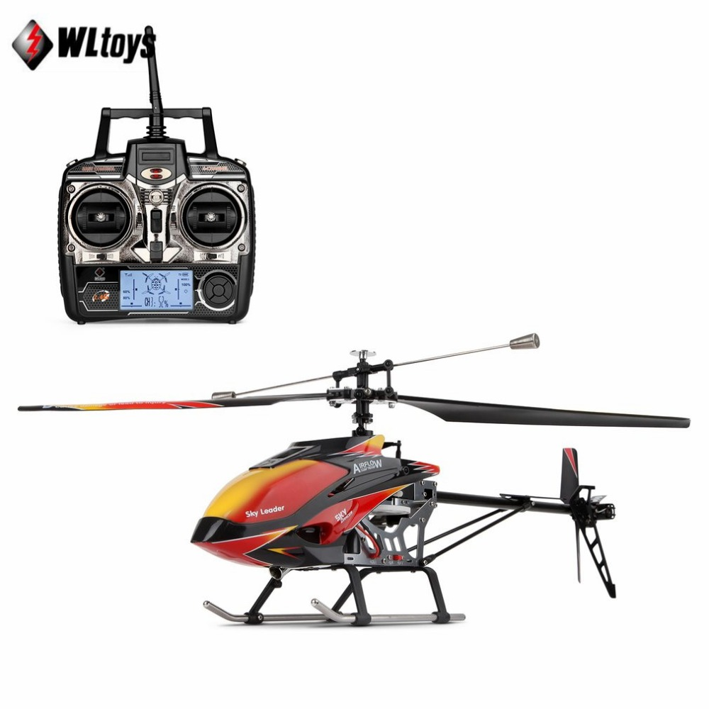 Wltoys V913 RC Helicopter 2.4G 4CH Single Blade Built-in Gyro Super Stable Flight High efficiency Brushless Motor Drone ModelWltoys V913 RC Helicopter 2.4G 4CH Single Blade Built-in Gyro Super Stable Flight High efficiency Brushless Motor Drone Model