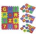 Мода 36 Шт. Детские Ребенка Количество Алфавита ЕВА Головоломки Пены Математика Обучающие Игрушки Подарок Бесплатная Доставка