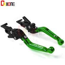 For Honda CBR300R Motorcycle Adjustable Folding Extendable Brake Clutch Levers WITH CBR300R  LOGO цена в Москве и Питере