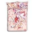 Touhou Project Remilia Scarlet Flandre японская кровать в стиле аниме простыня или пододеяльник с двумя наволочками постельное белье CP160603