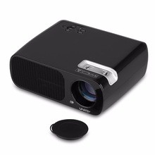 """Wifi Mini Portable Projector 5""""HD Capacitive Touch Proyector Android4.4 Remote Control LCD Projector"""