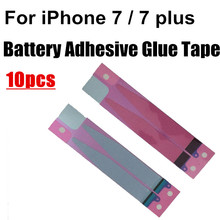 10pcs For iphone 7 7plus 4.7 5.5 inch Battery Adhesive Glue Tape Strip Sticker