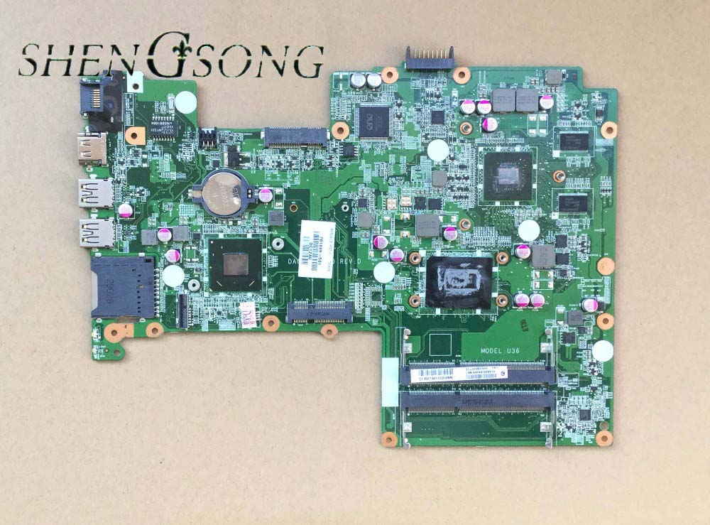 701699-501 Free shipping motherboard for HP Pavilion sleekbook 15 15T 15-B laptop 701699-001 HM77 DA0U36MB6D0 630M/1G I3-3217U sheli laptop motherboard for hp dv7 7000 682037 001 682037 501 hm77 630m 2g non integrated graphics card