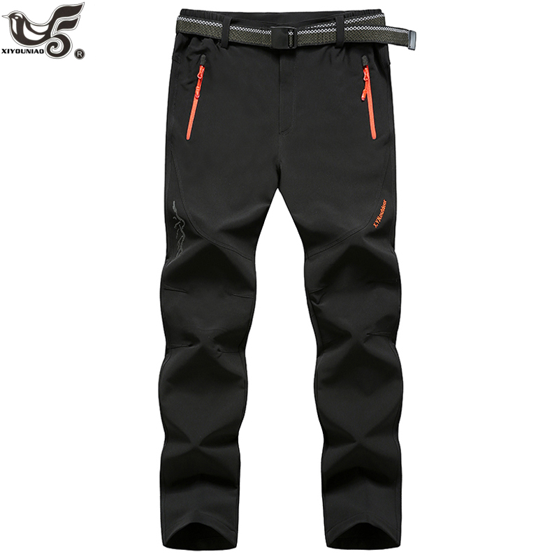 XIYOUNIAO plus size L~7XL 8XL Waterproof Casual Pants Men summer Shark Skin Trousers Male military Sweatpants Mens Work Pants