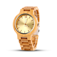 2019 Newest Wood Watch Men Watch Fashion