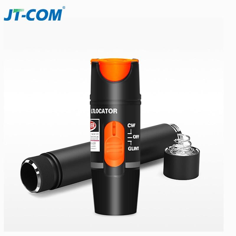 1 mW/10 mW/30 mW Fonte de Laser Visual Fault Locator Fibra Óptica Cable Tester Luz Vermelha 1 SC/FC/ST/LC Adaptador de Fibra Óptica VFL Caneta