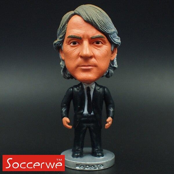 Football star Soccer Coach MANCINI (IM) 2.5 Action Dolls Figurine