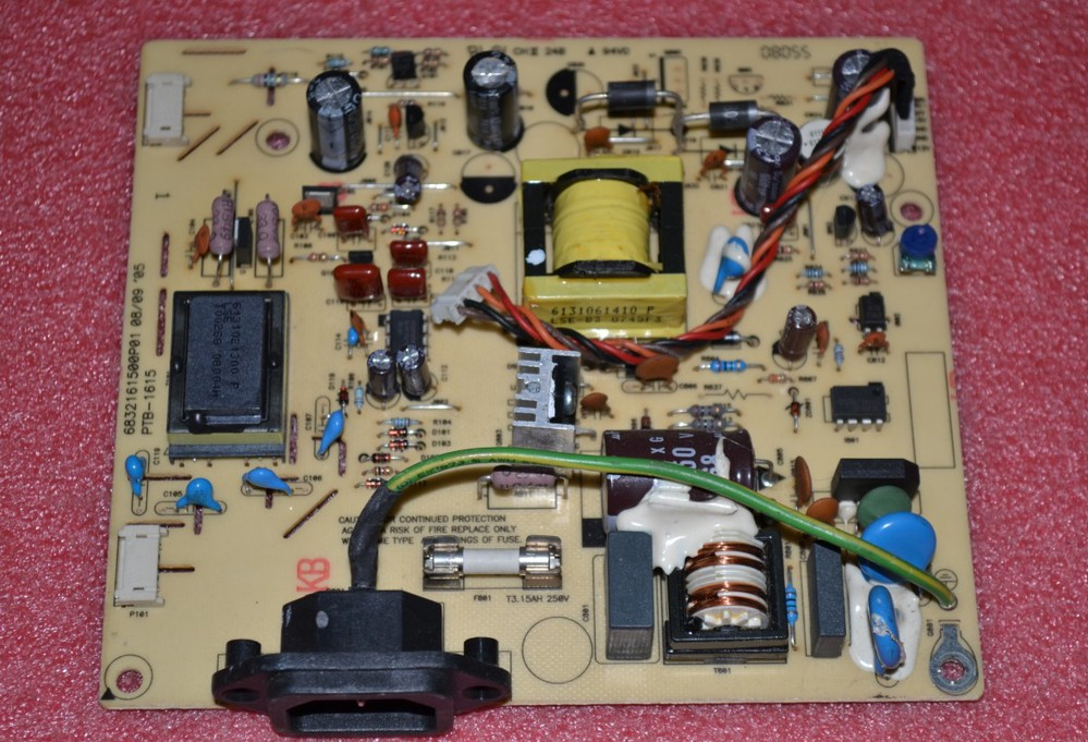 Free Shipping>Original   9205-HC2 Power Board PTB-1615 6832161500P02 pressure plate-Original 100% Tested Working free shipping tpv 2036 power board 715g2892 2 3 pressure plate original 100% tested working