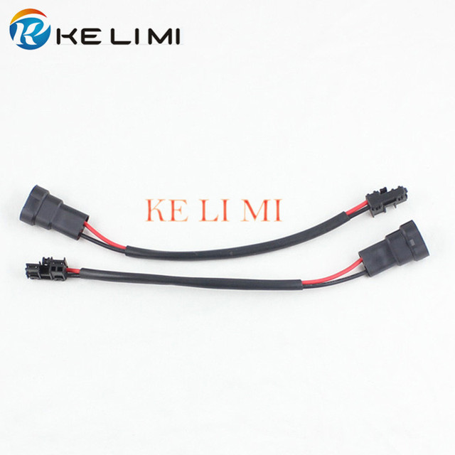 aliexpress com buy 9005 9006 retrofit harness adapter denso 9005 9006 retrofit harness adapter denso koito d4s d4r d4 headlight ballast power cable extension wires