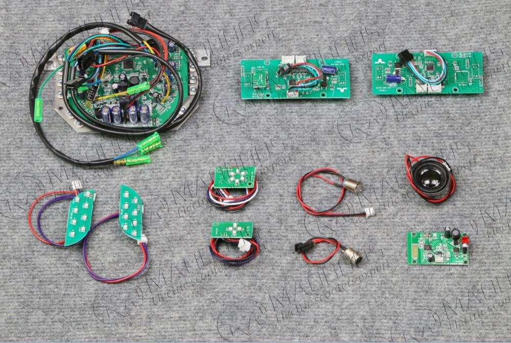 DHL shipping Two wheel self balancing Scooter Parts Motherboard taotao Control Board for hoverboard 11 items in total circself balancing control circuit motherboard for hoverboard scooter repair parts
