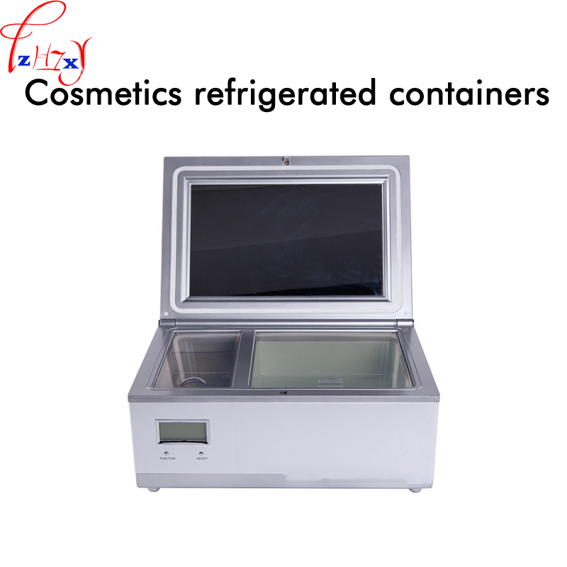 Cosmetics refrigerated box 3L mini cosmetics refrigerator intelligent adjustable temperature liquid crystal display 220V 1PC cosmetics refrigerated box 3l mini cosmetics refrigerator intelligent adjustable temperature liquid crystal display 220v 1pc