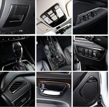 black item for dongfeng DFSK 580 Interior decoration Gear box Instrument outlet decorate frame