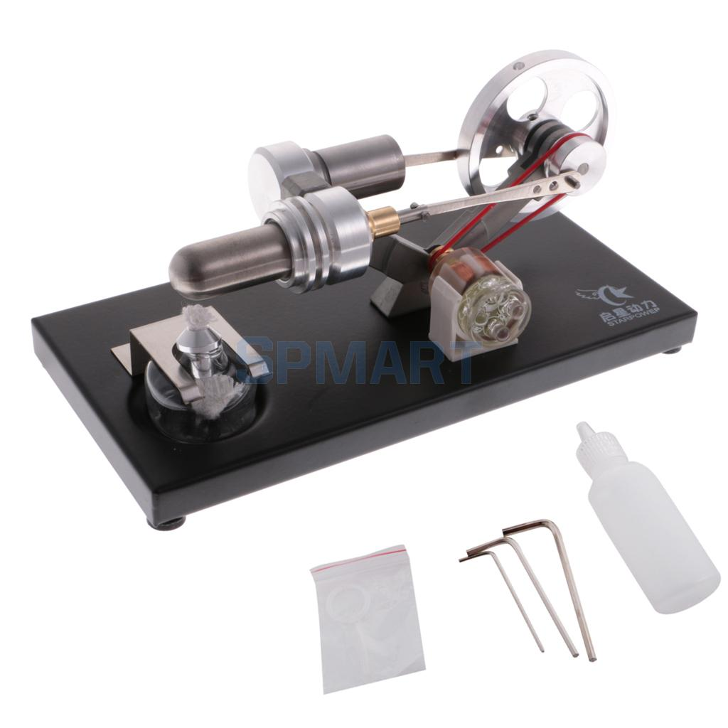 Stirling Engine Car Model Stirling Motor Model Educational Toy Kits QX-FD-05-M the latest stirling model boutique stirling